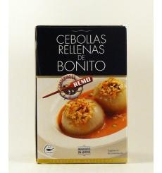 Cebollas rellenas de bonito Conservas Remo 425 grs.