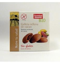 Galletas rellenas de cacao de Germinal Qbio 200 grs.