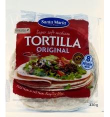 Tortillas de Trigo Santa María 320 grs.