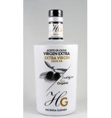 Aceite oliva virgen extra ecológico Hacienda de Guzmán 500 ml.