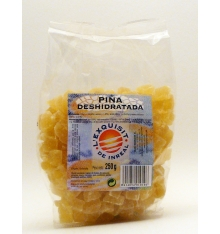 L'exquisit dehydrated pineapple 250gr of Inreal