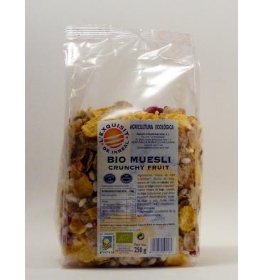 Bio musli crunchy fruit l'Exquisit de Inreal 250 grs.
