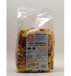 Bio muesli crunchy fruit  L'exquisit de Inreal 250gr