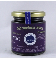 confettura di more mirtilli biologici 250 g.