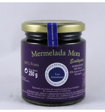 Mermelada ecológica mora Los Arándanos 250 grs.