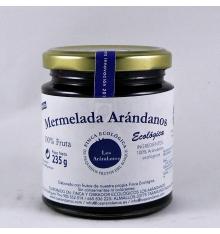 confiture de bleuets biologiques Blueberries 235 grammes.