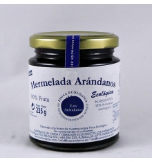 Organic blueberry jam Blueberries 235 grams.