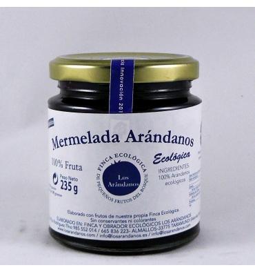 Mermelada ecológica arándanos Los Arándanos 235 grs.