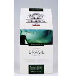 Brazil Santos Coffee Dell'Arabica 250 grs.
