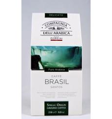 Café Dell'Arabica Brasil Santos 250 grs.