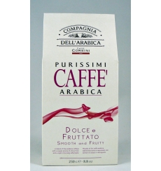 Dell'Arabica Purissimi Arabica Coffee 250 g.