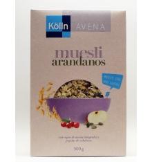 Blueberries Muesli Kölln 500 grammes d'avoine.