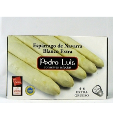 Espárrago de Navarra blancos, extra 4/6 Pedro Luis