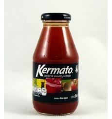 Cóctel de tomate y almeja Kermato 250 ml.