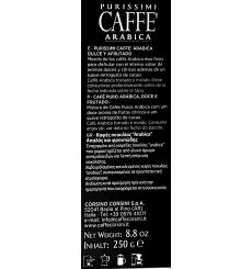 Dell'Arabica Purissimi Arabica Kaffee 250 g.