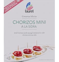 Chorizos mini a la sidra Laurel 275grs.