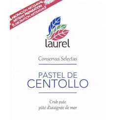 Laurel caranguejo bolo de 150 gramas.
