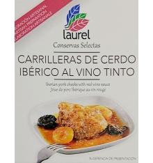 Iberian pork cheeks Laurel 400g.