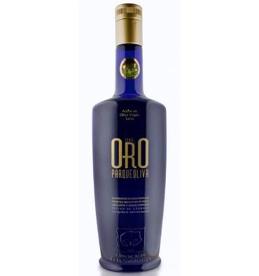 Aceite oliva virgen extra Parqueoliva Serie Oro 500 ml.