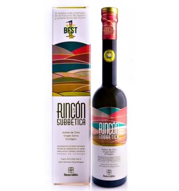 Aceite oliva virgen extra ecológico Rincón de la Subbética 500 ml.