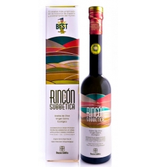 Olio extra vergine di oliva angolo biologico Subbetic 500 ml.