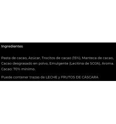 Chocolate 70% cacao con Nibs Simón Coll 85gr