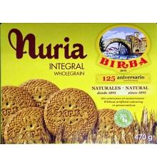 Nuria biscuits Integral Birba 470 grammes.