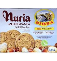 Nuria Mediterraneo Birba biscotti per 420 grammi.