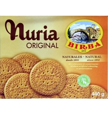 Nuria Original Cookies Birba 440 grams.