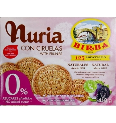 0% Sugar Cookies Birba 410 grams Nuria.
