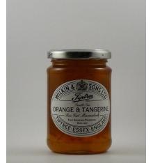 Tiptree Orange Marmalade 340 g and tangerines.