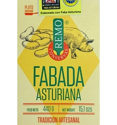 Haricot asturien ragoût en conserve Remo 425 grs.