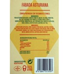Asturischen Bohneneintopf Canned Remo 425 grs.