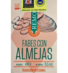 Feijão conservado com amêijoas Remo 425 grs.
