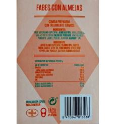 Dosen Bohnen mit Venusmuscheln Remo 425 grs.