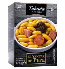 Asturian bean stew El Yantar de Pepe 430 grs.