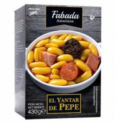 Ragoût de haricots asturien El Yantar de Pepe 430 grs.