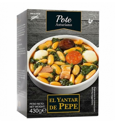 Asturian stew Yantar de Pepe 430 grs.