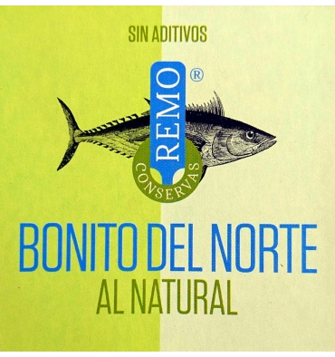 Bonito del Norte to the natural Canned Rowing 190 grs.
