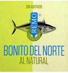 Conservas naturais de Bonito Remo 190 grs.