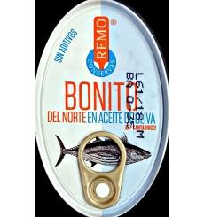 Bonito del Norte en aceite de oliva Conservas Remo 111 grs.
