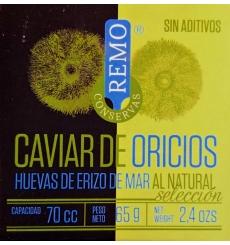 Conserved sea urchin caviar Remo 65 grs.