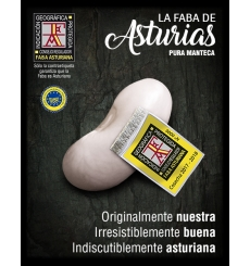 Asturiano Faba IGP Finca El Ribeiro 'O Vale Luiñas' Cudillero 1 kg