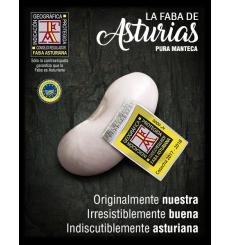 "Asturien Faba IGP Finca El Ribeiro ""La vallée Luiñas 'Cudillero 1 kg"