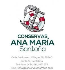Anchovas em conserva Ana Maria Série Ouro Tin 165 g.