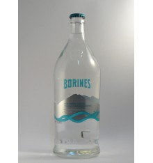 Agua mineral Borines Natural con gas