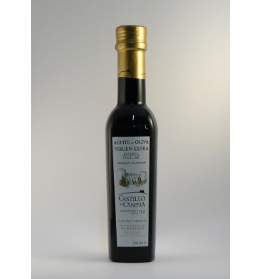 Extra virgin olive oil Canena Castle Picual 250 ml.