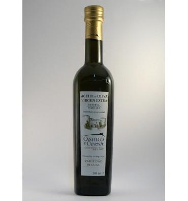 Aceite oliva virgen extra Castillo de Canena Picual 500 ml.