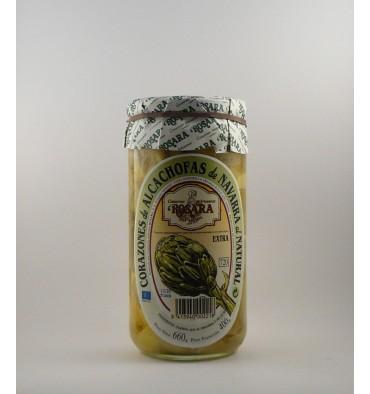 Fonds d'artichauts naturelles Rosara 660 grs.