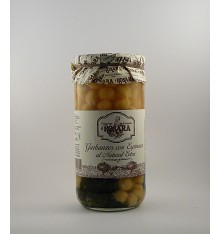 Garbanzos con espinaca al natural Rosara 660 grs.